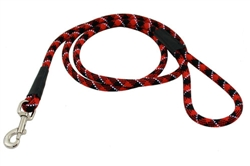 Reflective Rope Leashes - Snap-End ~ 5 Colors
