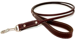 Rolled Leather Leashes aka Round Leather Leads