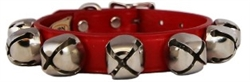 Red Jingle Bell Collars