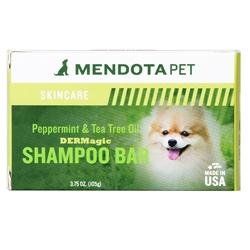 3.5 oz Peppermint & Tea Tree Oil Organic Shampoo Bar