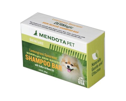3.5 oz Skin Rescue Shampoo Bar (w/ Sulfur & Neem Oil) - Lemongrass Spearmint