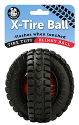 "5"" Blinky X-Tire Ball"