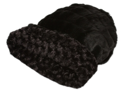 Cuddle Cup, Black / Black Curley Sue