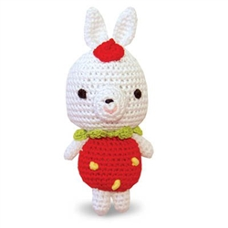 PAWer Squeaky Toy - Rabbit