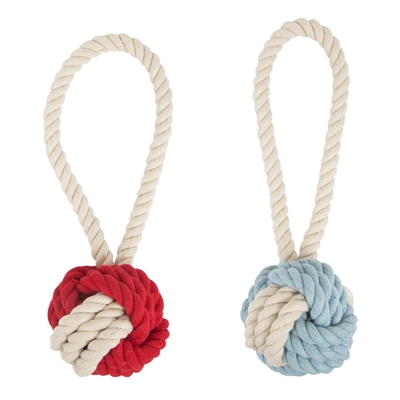 Cotton Rope Tug and Toss Toy