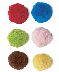 Plush Balls 6 pack - Assorted