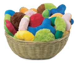 12 inch Bamboo Basket - FREE with purchase of $40 or more of 6/pack Assorted Toys