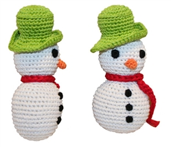 Frost - Knit Knacks - Organic Cotton Crocheted Toys