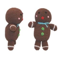 Ginger - Knit Knacks - Organic Cotton Crocheted Toys