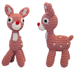 Rudy - Knit Knacks - Organic Cotton Crocheted Toys