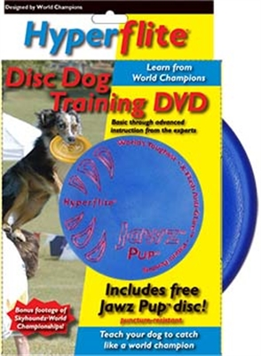 Disc Dog Training DVD with Jawz™ Pup Disc