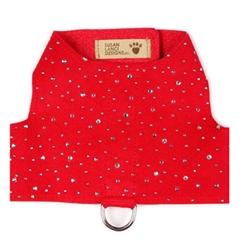 Red Bailey II Harness - Silver Stardust