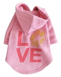 LOVE Charity Hoodie in Baby Pink