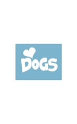 Car Window Decals - (Heart) Dogs