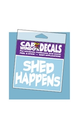 Car Window Decals - Shed Happens
