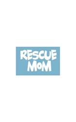 Car Window Decals - Rescue Mom