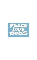 Car Window Decals - Peace Love Dogs