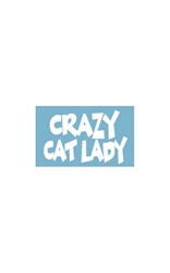 Car Window Decals - Crazy Cat Lady