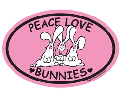 Peace Love Bunnies