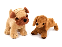 Canine Styles Singing Pug and Singing Daschund