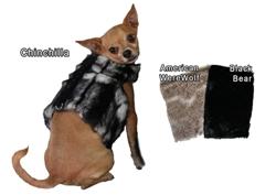 Faux Fur Walking Vest