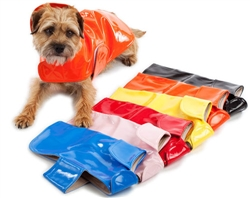 Raincoat | Slickers Classic Orange, Yellow, Blue, Pink, Black and Red Rain Slickers