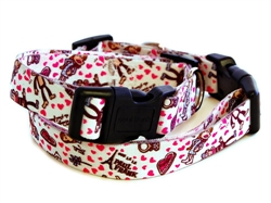 Love Triangle Collars & Leashes