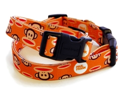 Signature Julius Orange Collars & Leashes