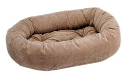 Donut Bed Cappuccino Treats Microvelvet