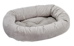 Donut Bed Silver Treats Microvelvet