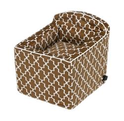 Booster Seat Cedar Lattice Microvelvet