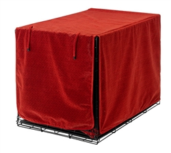 Luxury Crate Cover Cherry Bones Microvelvet