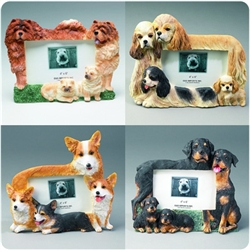 "Large (4"" x 6"") Dog Picture Frames"