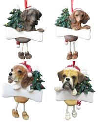 Dangling Leg Ornaments