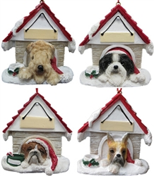 Dog House Ornaments
