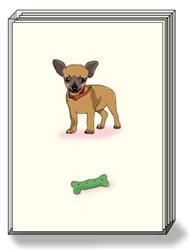 Chihuahua Bone - Boxed Notes
