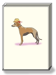 Greyhound Hat - Boxed Notes