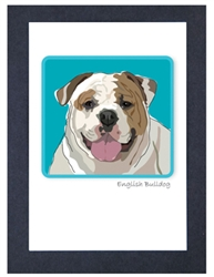 E. Bulldog Smile - Grrreen Boxed Note Cards