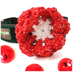 Holiday Tinsel Flower