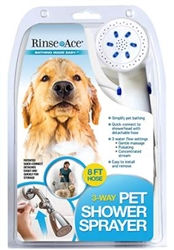 3-Way Pet Shower Sprayer