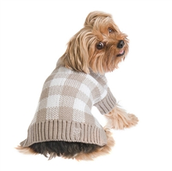Mad for Plaid Sweater - Grey