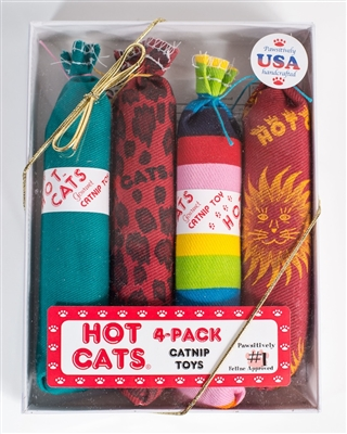 Hot Cats 4-Pack gift box