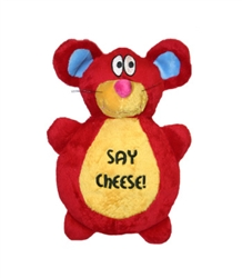 """SAY CHEESE"" MOUSE FLAPJACK - 10"""