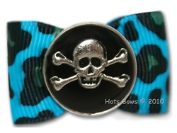 Cool Bones, Turquoise Leopard
