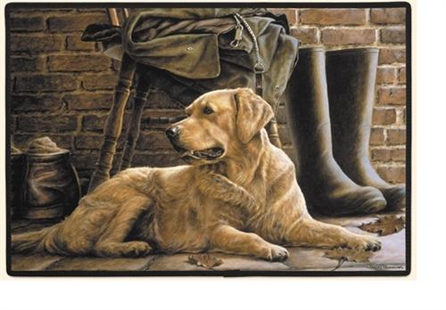 Patience (Golden) Doormat