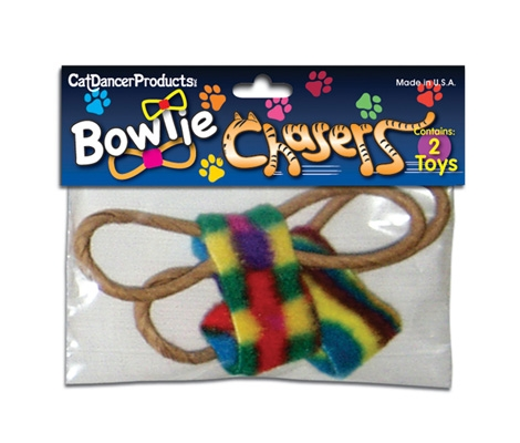Cat Dancer BowTie Chaser Cat Toy – 2 Pack