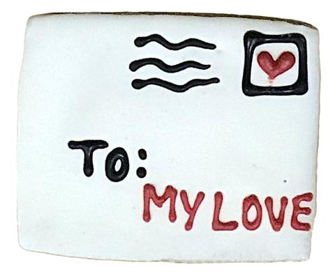 "Valentine Love Letter 2.5"" X 3.5"""