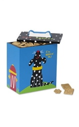 Hand Painted Collection - Black Dog Treat Box