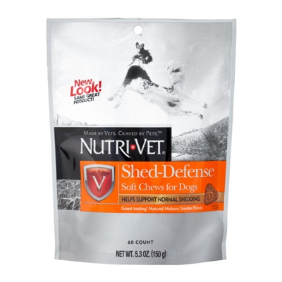 Nutri-Vet Shed Defense Soft Chews - 5.3 oz.