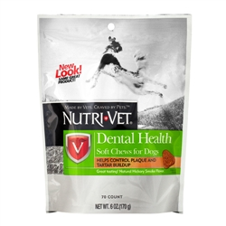 Nutri-Vet Dental Health Soft Chews - 6 oz.